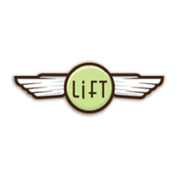 Lift Coffee shop logo